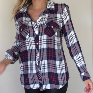 Rails Flannel M long sleeve